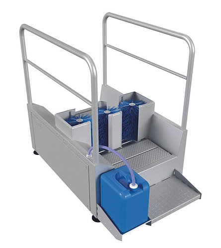Walk Through Side Only Automatic Boot Wash - EDSW