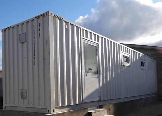 Modular Abattoir Outside - AES