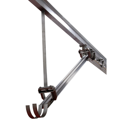 TWIN TRACK RAIL DROP ARM - STATIC