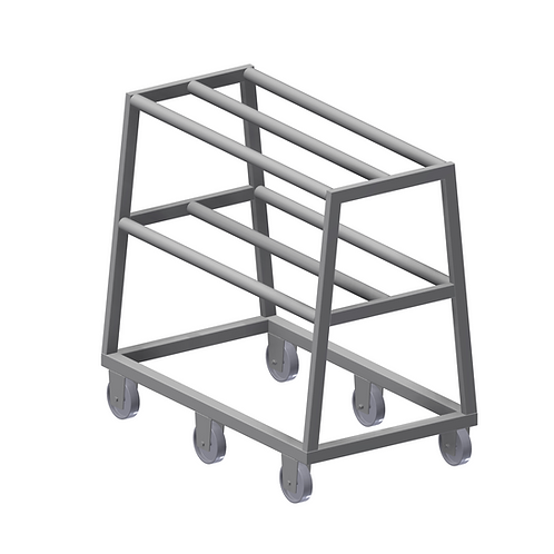 Stainless Steel Hook Trolley