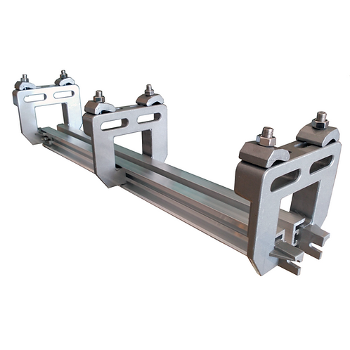 Twin Track Rail - 19mm - Dual 1m Section
