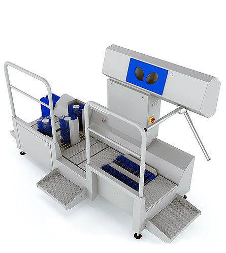 Sole Cleaning, Hand Disinfection and Shaft Cleaning - DZW-HDT-EDSW