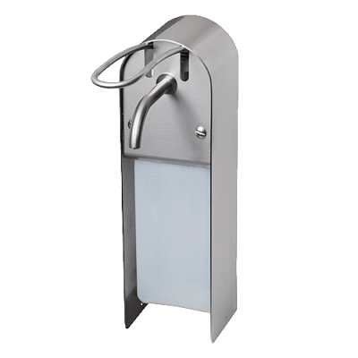 Manual Soap Dispenser - Stainless Steel