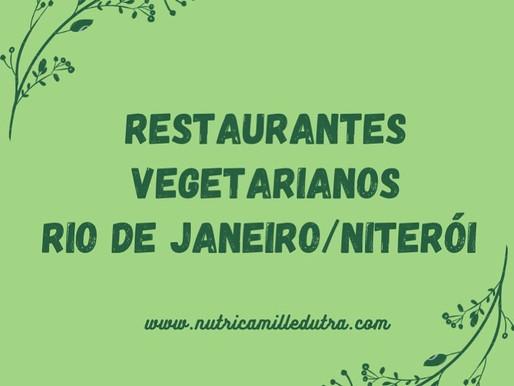 Restaurantes veganos ou com opções no Rj e Niterói