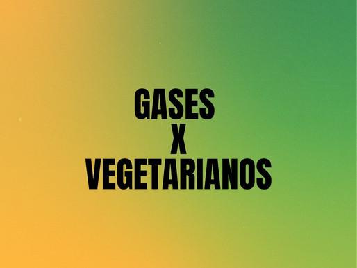 Virei vegetariano X fiquei com mais gases intestinais