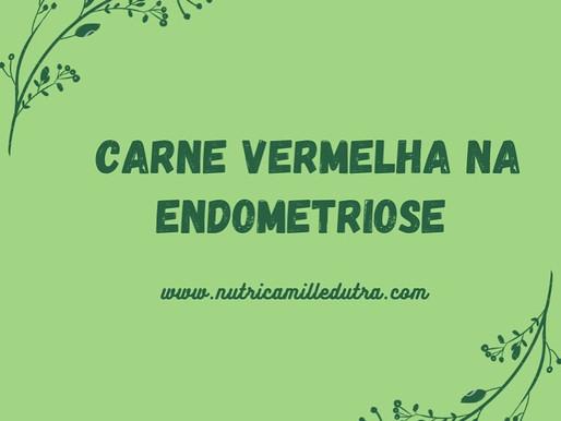 Relação: endometriose X consumo de carne vermelha