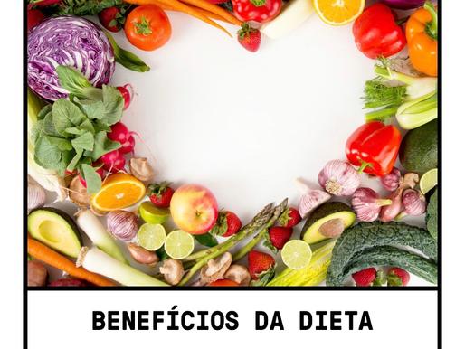 Benefícios da dieta vegetariana!