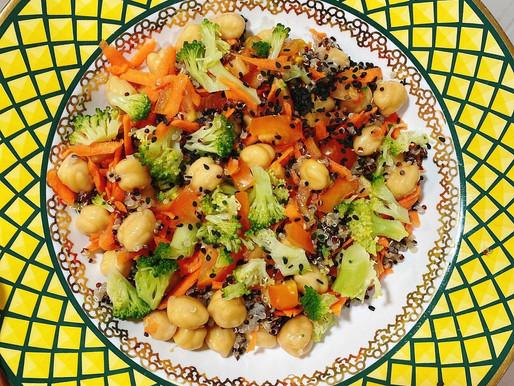 Mix de saúde, fácil e delicioso