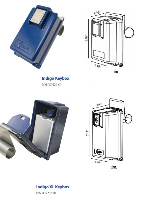 safe keybox indigo