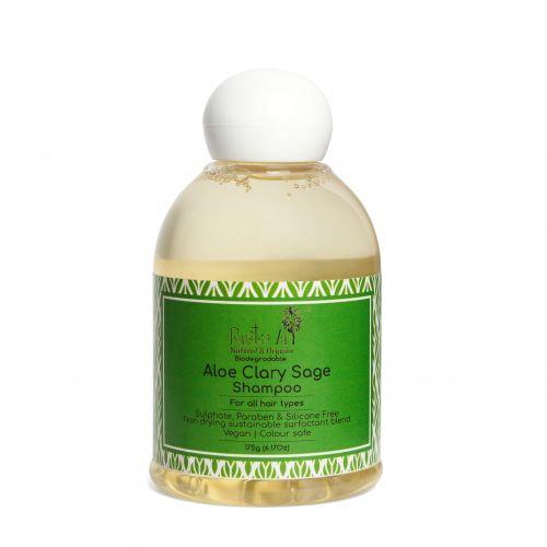 Rustic Art Aloe Clary Sage Shampoo   Organic & Vegan