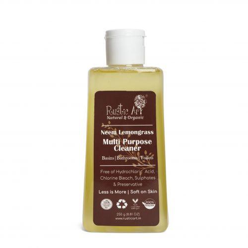 Rustic Art Neem Lemongrass Multipurpose Cleaner | Organic & Vegan
