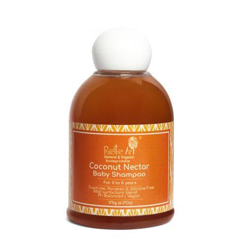 Rustic Art Coconut Nectar Baby Shampoo | Organic & Vegan