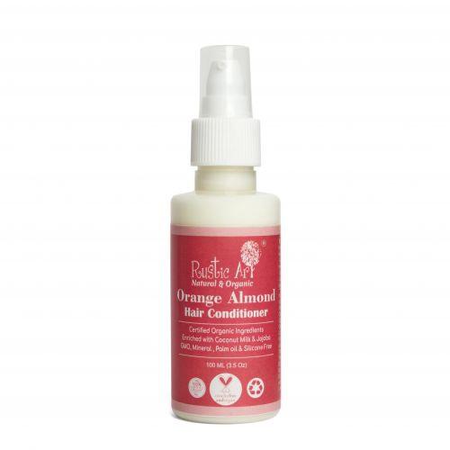 Rustic Art Orange Almond Hair Conditioner   Organic & Vegan