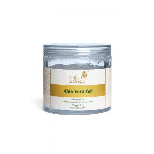 Rustic Art Aloe Vera Lemon Gel | Organic & Vegan