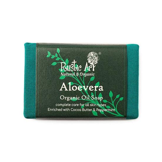 Rustic Art Aloevera Soap | Organic & Vegan