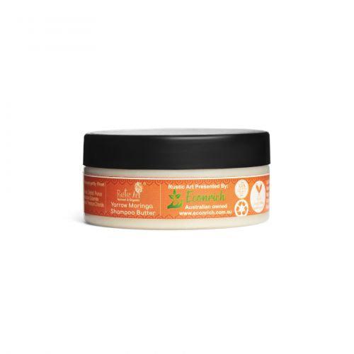 Rustic Art Yarrow Moringa Shampoo Butter for Babies & Kids | Organic & Vegan