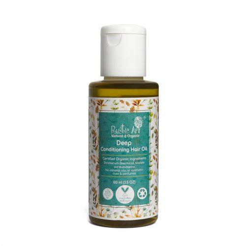 Rustic Art Deep Conditioning Hair Oil   Organic & Vegan