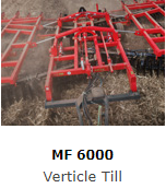 The MF 6000 Series Vertical Till range offers an effective low maintenance tool that provides greater versatility than other speed discs currently available.