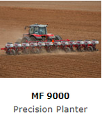 With massive frame construction, accurate seed singulation and placement plus a variety of options and attchements the MF 9000 Series Precision Planters offer a planter for the professional operator that will increase yield and maximise efficiency.