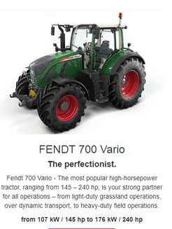Just being good is not enough. The perfect coordination of the tractor and operator is what produces successful results. To make your daily work a thing of perfection, we have brought together all of the best solutions in the new Fendt 700 Varioto build a perfected unit of power and manoeuvrability, precision, reliability, functionality and comfort.