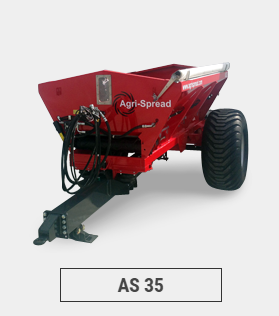 The Agrispread range of the spreaders are capable of spreading a wide range of materials including lime, fertilizer, fibrophos, sand, salt and poultry waste. Hydraulic control of the spinners and drop point adjustment ensure accurate spreading up to 36 metres depending on the type of material. A range of models are available from 3 to 12 cubic metres depending of the requirements of the customer. All Agrispread lime and fertiliser spreaders come complete with user-friendly test kits, allowing continuous testing of spread patterns, thus ensuring an even spread and ultimately a more cost-effective one. . The spreaders boast a number of unique features which ensure the accuracy of the machine will not be matched or beaten in the field. Full computerised, GPS and variable rate spreading kits are available as an option.