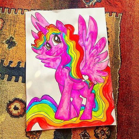 Rainbow Muse my My Little Pony Original