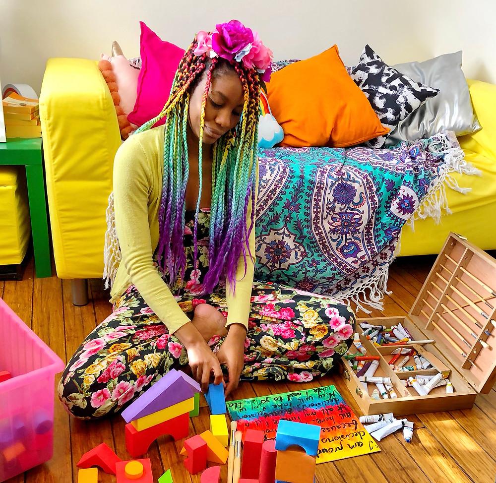 chenai mupotsa art therapy autism melbourne