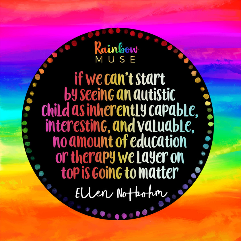 NDIS Autism Art therapy Melbourne rainbow muse