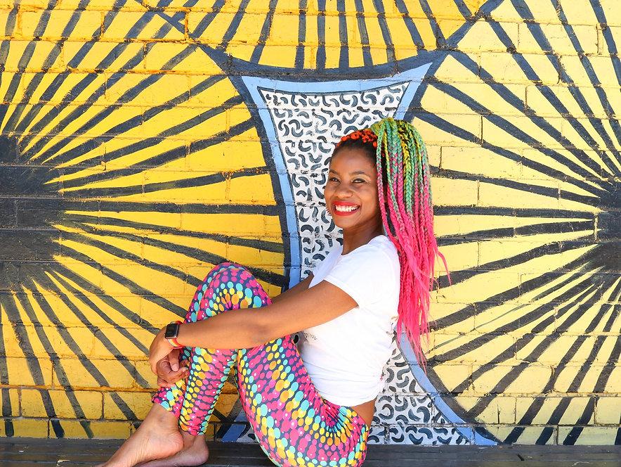 Rainbow Muse Chenai Mupotsa Art Therapy Melbourne Photo by Me&MyGirl
