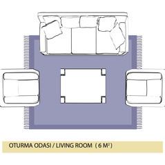Salon ve Oturma Odası