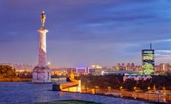 Belgrade, Kalemegdan, le Pobednik