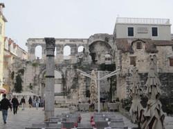 Vestige du palais Diclétien, Split, balkans discovery tours
