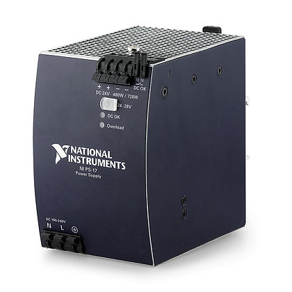 NI PS-17 Power Supply, 24 VDC, 20 A, Universal Power Input