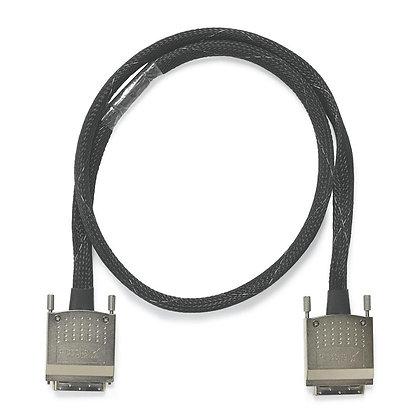 C68-C68-D4 Unshielded Cable, 2X68-Position VHDCI Offset, 1 m