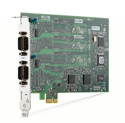 NI PCIE-8430/2, 2 Port, RS232 Serial Interface