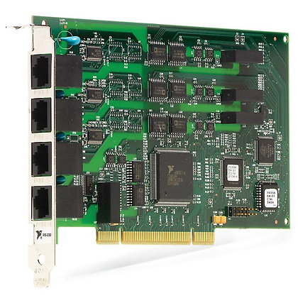 PCI-8432/4, 4 Port, RS232, 2000V Isolated, Serial Interface