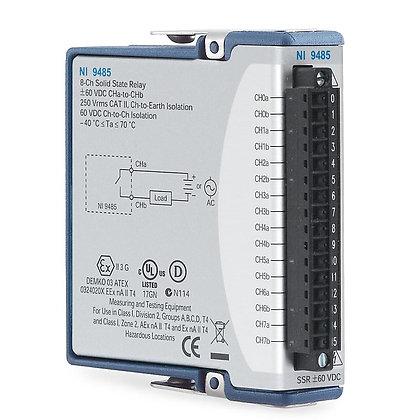 NI 9485 8-Ch, �60 VDC, 750 mA SSR C Series Module