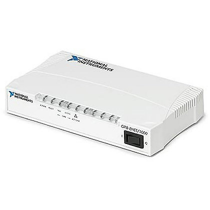 GPIB-ENET/1000 with NI-488.2 for Windows, Chinese Cord (250V)