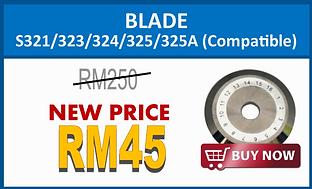 Blade for S321 323 324 325 325A (Compati