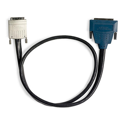 SHC68-68-EPM Shielded Cable, 68 D-Type to 68 VHDCI Offset, 1 m