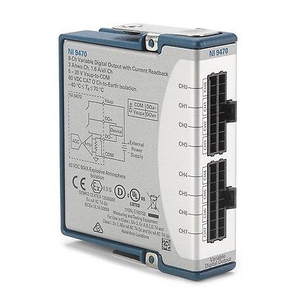 sbRIO-9253, 8ch, +/- 20mA, 50kS/s/ch Filtered Input Current Module