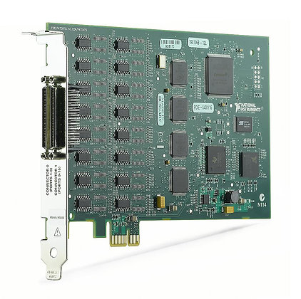 NI PCIe-8431/16, 16 Port, RS485/RS422 Serial Interface