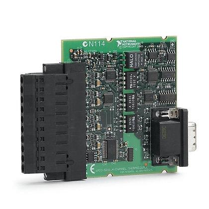 NI 9211E, 4-Ch �80 mV, 15 S/s, 24-Bit TC and Diff AI BOARD-ONLY