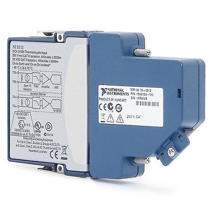 NI 9212, Ch-Ch ISO, 24-Bit, 8-Ch, Thermocouple C Series Module