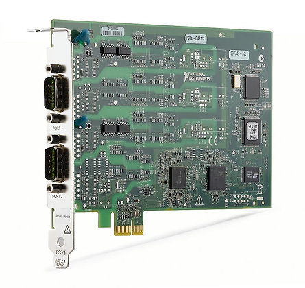 NI PCIE-8431/2, 2 Port, RS485/RS422 Serial Interface
