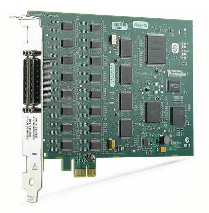 NI PCIe-8430/16, 16 Port, RS232 Serial Interface