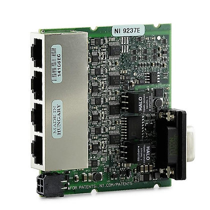 NI 9237E 4-Ch 50kS/s/Ch, 24-Bit Bridge AI Board-Only
