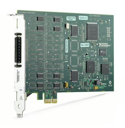 NI PCIe-8430/8, 8 Port, RS232 Serial Interface