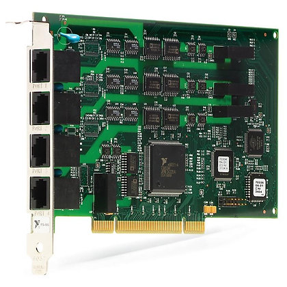 PCI-8433/4, 4 Port, RS485/RS422, 2000V Isolated, Serial Interface