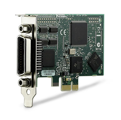 NI PCIe-GPIB+, Low-Profile, with NI-488.2